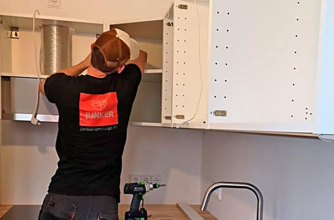 Sorgfältige und gewissenhafte Möbelmontage und Packservice